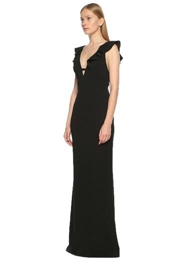 Askılı Uzun Abiye Elbise-Abs